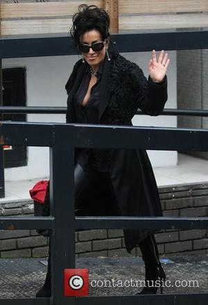 Nancy Dell'Olio at the ITV studios London, England - 03.05.12