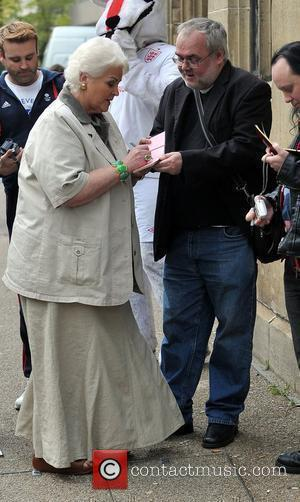 Pam St. Clement at the ITV studios London, England - 16.05.12