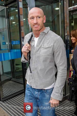Gareth Thomas appears casually dressed outside the ITV studios  Where: London, United Kingdom When: 03 Jan 2013