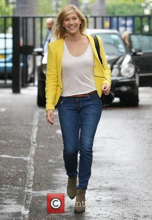 Lauren Drummond at the ITV studios  London, England - 03.07.12