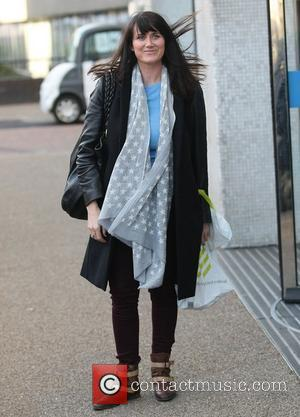 Dawn Steele at the ITV studios London, England - 06.01.12