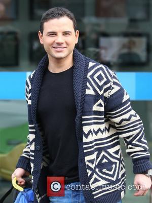 Ryan Thomas outside the ITV studios London, England - 06.02.12