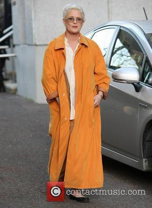 Sharon Gless at the ITV Studios London, England - 09.12.11