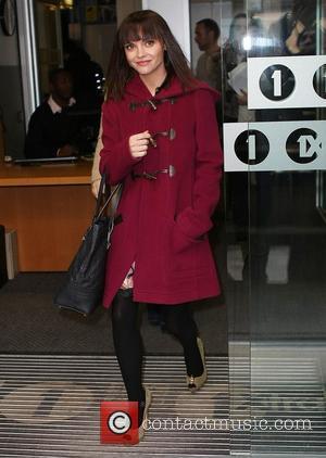 Christina Ricci outside the ITV studios London, England - 16.02.12