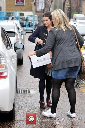 Amelia Warner aka Slow Moving Millie outside the ITV Studios London, England - 21.12.11