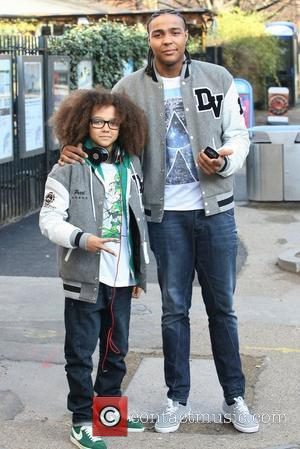 Perri Luc Kiely and Jordan Banjo of Diversity Dance Group Celebrities Outside the ITV Studios London, England - 27.01.12