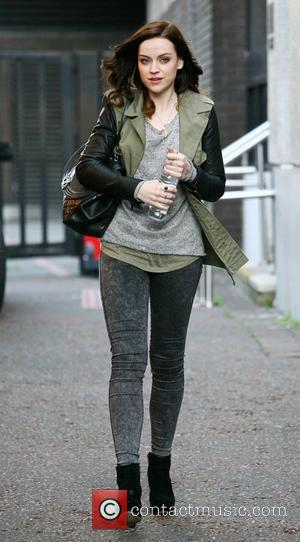 Amy Macdonald outside the ITV studios London, England - 28.08.12