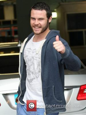 Danny Miller at the ITV studios London, England - 05.04.12
