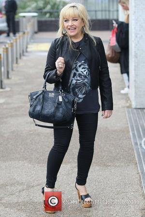 Charlene Tilton outside the ITV Studios London, England - 06.02.12