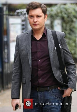 Brian Dowling outside the ITV studios London, England - 12.01.12
