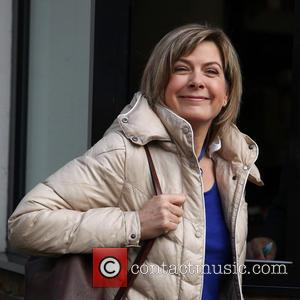 Penny Smith Celebrities outside the ITV studios  Featuring: Penny Smith When: 18 Dec 2012