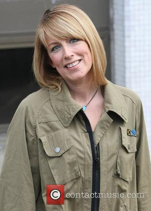 Fay Ripley at the ITV studios London, England - 20.03.12