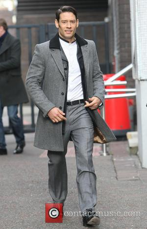 Urs Buhler of Il Divo outside the ITV studios  Featuring: Urs Buhler