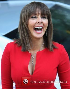 Carol Vorderman at the ITV studios London, England - 28.03.12