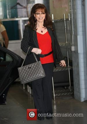Jackie Collins outside the ITV studios London, England - 28.09.12