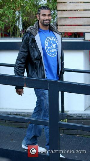 David Haye Celebrities at the ITV studios  Featuring: David Haye Where: London When: 09 Jan 2013