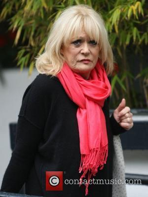 Sherrie Hewson outside the ITV studios London, England - 11.06.12