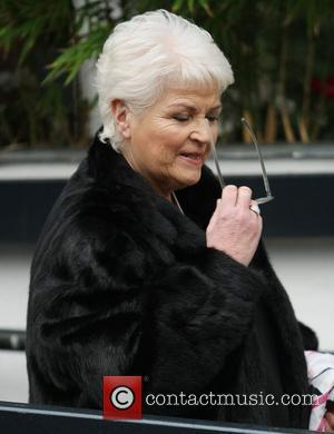 Pam St. Clement outside the ITV studios London, England - 12.01.12