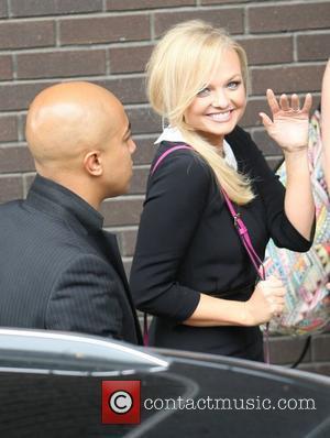 Jade Jones and Emma Bunton at the ITV studios London, England - 18.07.12