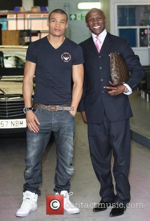 Chris Eubank Jr. and Chris Eubank  Celebrities at the ITV studios London, England - 21.06.12