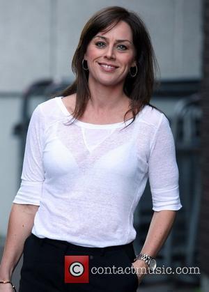 Jill Halfpenny at the ITV studios London, England - 24.07.12