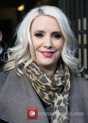 Claire Richards outside the ITV studios London, England - 02.11.12