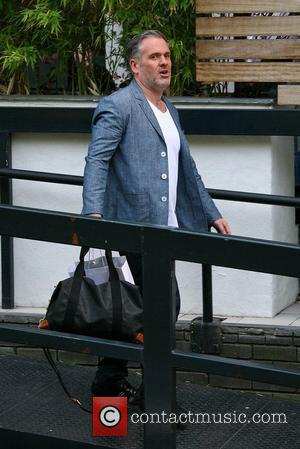 Chris Moyles outside the ITV studios London, England - 03.09.12