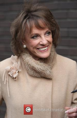 Esther Rantzen at the ITV studios London, England - 09.10.12