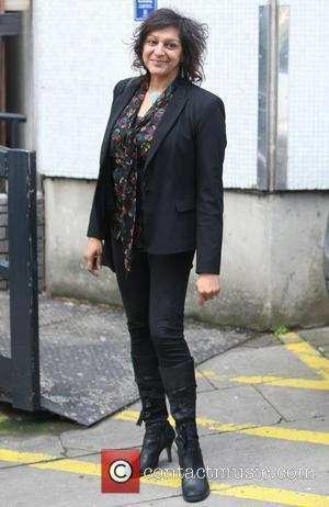 Meera Syal at the ITV studios London, England - 20.04.12