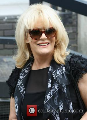 Sherrie Hewson at the ITV studios London, England - 26.06.12