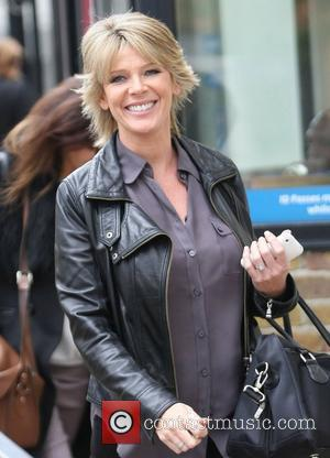 Ruth Langsford outside the ITV studios  London, England - 05.10.12