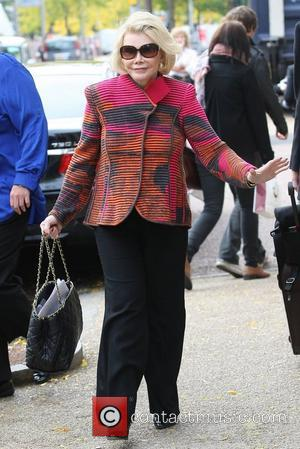 Joan Rivers at the ITV studios London, England - 09.10.12