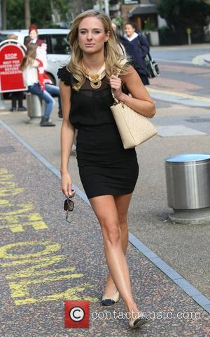 Kimberly Garner at the ITV Studios London, England - 13.09.12