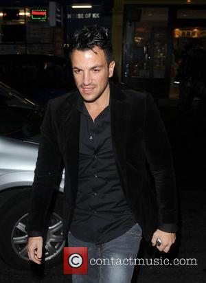 Peter Andre seen leaving the ITV2 party at the W Hotel London, England - 06-11-12