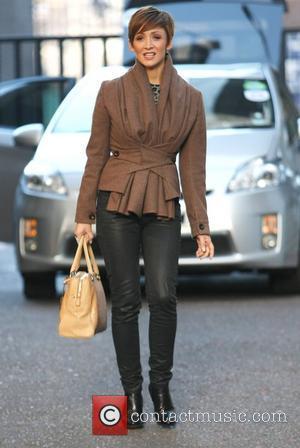 Lucy-Jo Hudson leaves the ITV studios London, England - 03.02.12