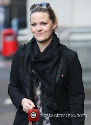 Jo Joyner at the ITV studios London, England - 12.04.12