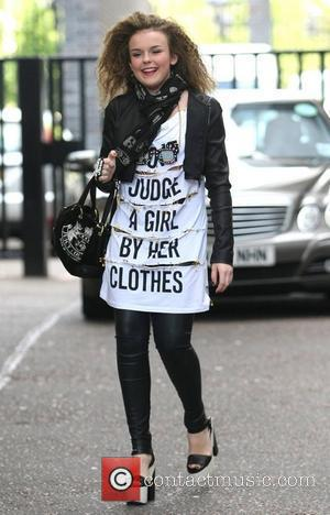 Tallia Storm leaves the ITV studios after appearing on 'Daybreak' London, England - 14.06.12