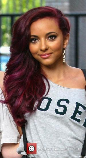 Jade Thirlwall Little Mix at the ITV Studios London, England - 14.08.12