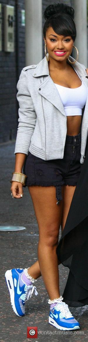 Leigh-Anne Pinnock Little Mix at the ITV Studios London, England - 14.08.12