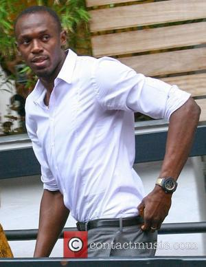 Usain Bolt,  at the ITV Studios. London, England - 16.08.12