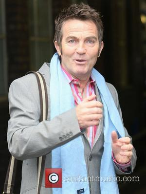 Bradley Walsh outside the ITV studios  London, England - 20.01.12