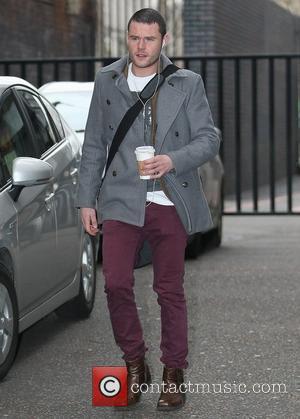 Danny Miller outside the ITV studios  London, England - 20.01.12