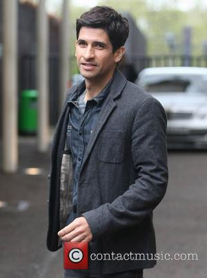 Raza Jaffrey at the ITV studios London, England - 27.04.12
