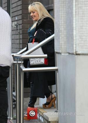 Charlene Tilton at the ITV studios London, England - 01.02.12
