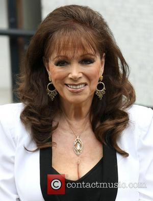 Jackie Collins at the ITV studios London, England - 03.10.12
