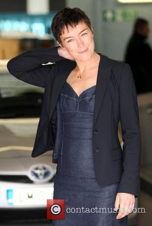 Olivia Williams at the ITV studios London, England - 12.07.12