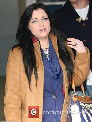 Shona McGarty at the ITV studios London, England - 15.02.12