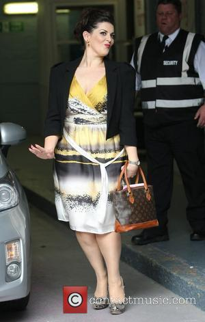 Jodie Prenger outside the ITV studios London, England - 17.07.12