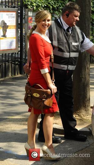Brooke Kinsella  outside the ITV studios London, England - 23.05.12