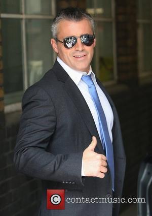 Matt LeBlanc outside the ITV studios London, England - 30.04.12